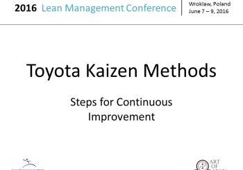 3 Toyota Kaizen Methods