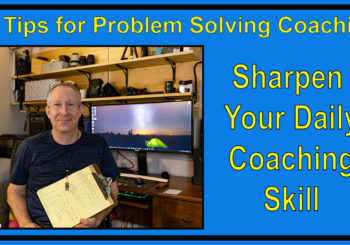 10 Tips for Coaching Problem Solving